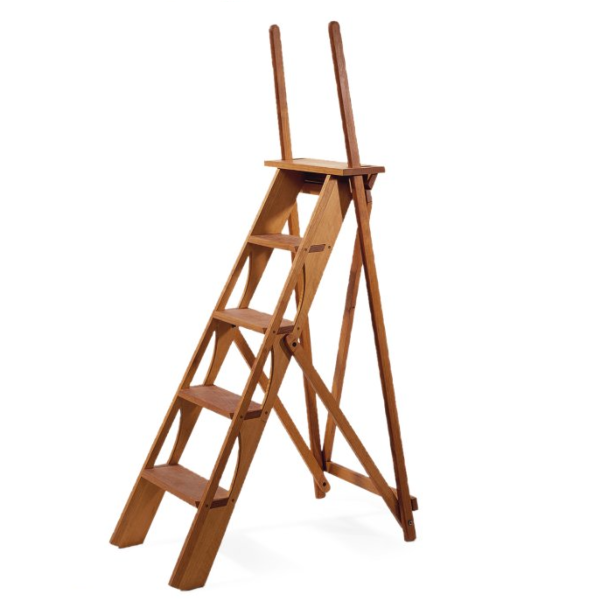 Ladder in cherry wood
